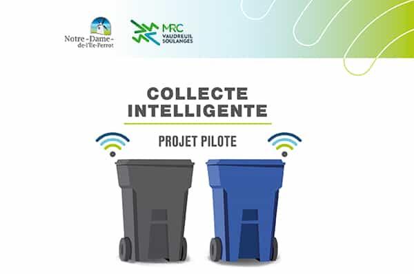 La MRC de Vaudreuil-Soulanges lance un projet pilote de collecte intelligente des matières résiduelles
