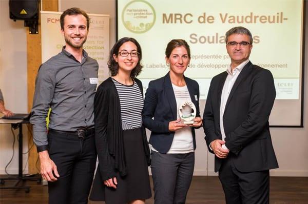 La MRC de Vaudreuil-Soulanges passe la première étape du programme Partenaires dans la protection du climat