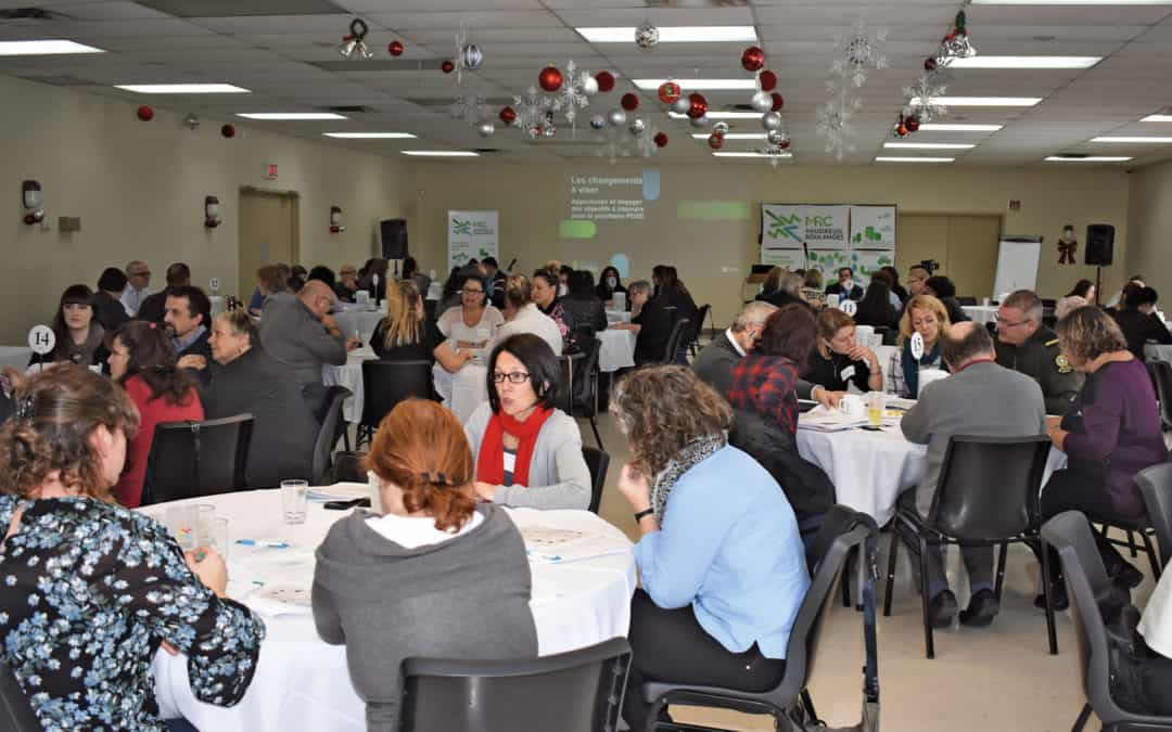 Un véritable succès pour le 4e Forum régional sur le développement social durable de Vaudreuil-Soulanges