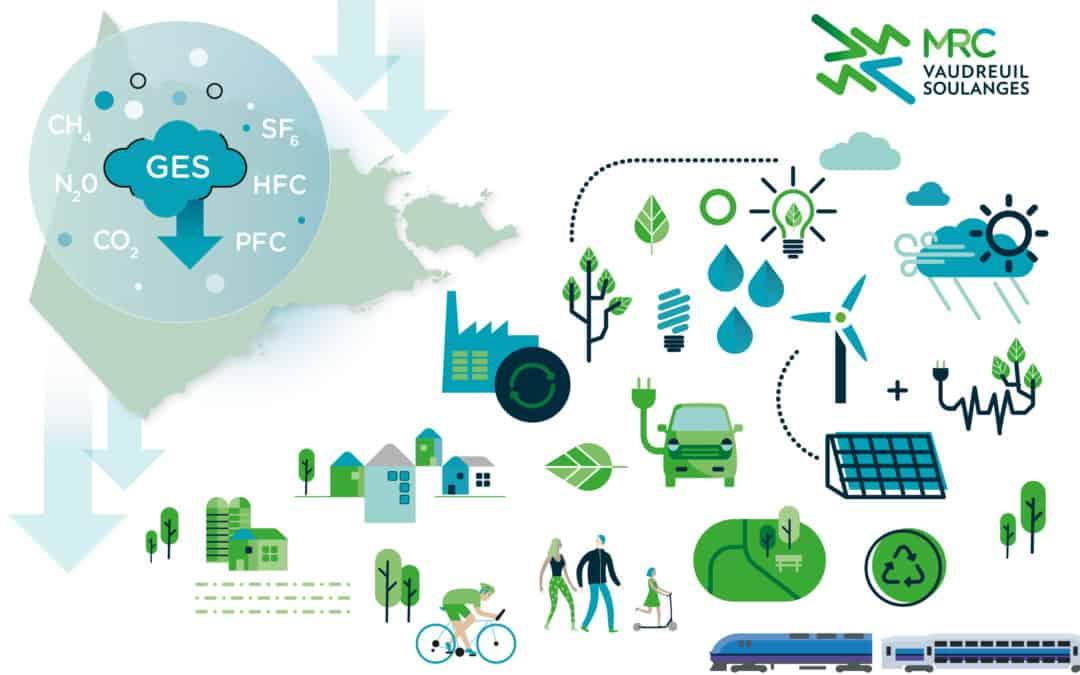 La MRC de Vaudreuil-Soulanges obtient une subvention pour soutenir la lutte aux changements climatiques