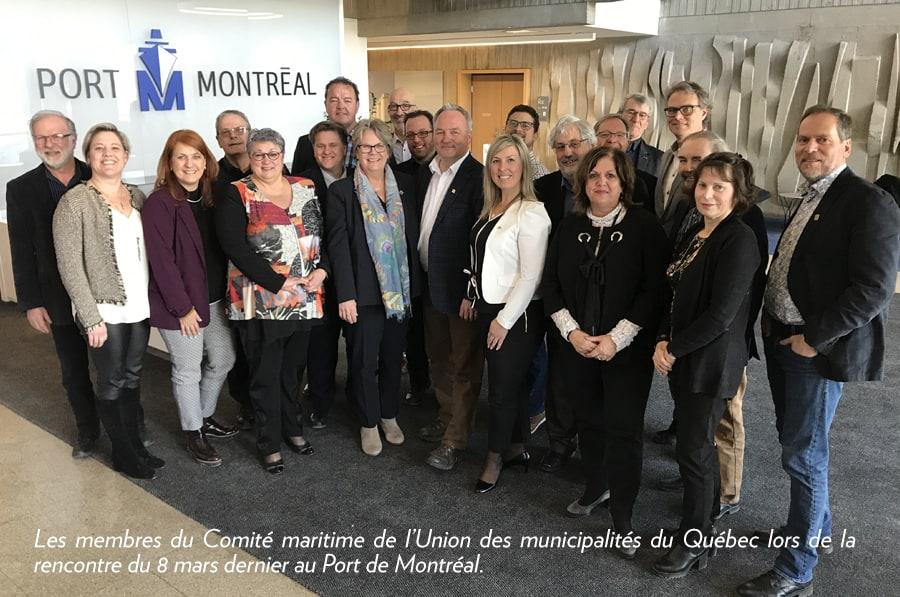 Comité maritime de l'UMQ : la question maritime au cœur de l'élection fédérale