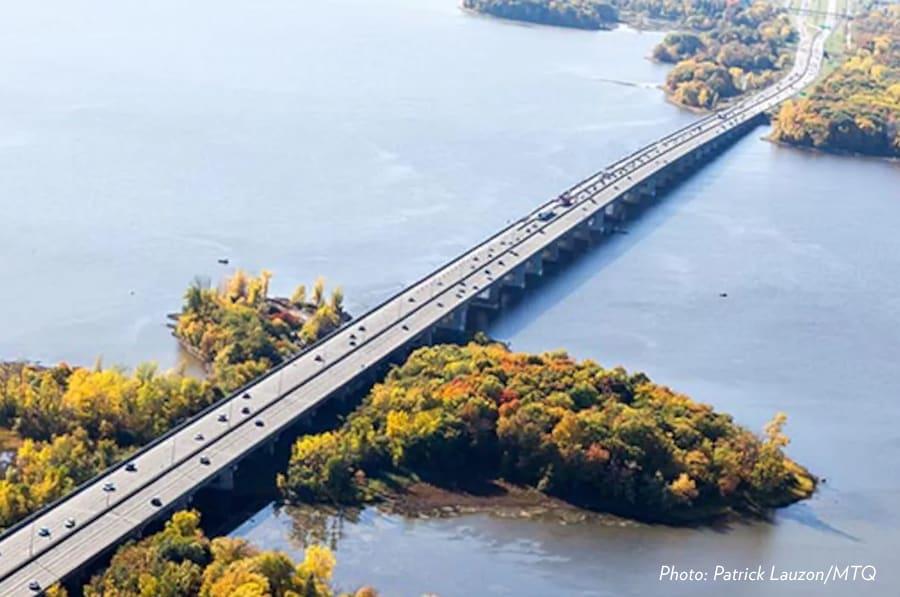 Conception du nouveau pont de l'Île-aux-Tourtes – La MRC de Vaudreuil-Soulanges heureuse de l'annonce du gouvernement