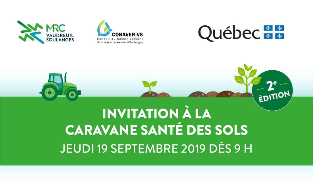 Invitation à la Caravane de santé des sols