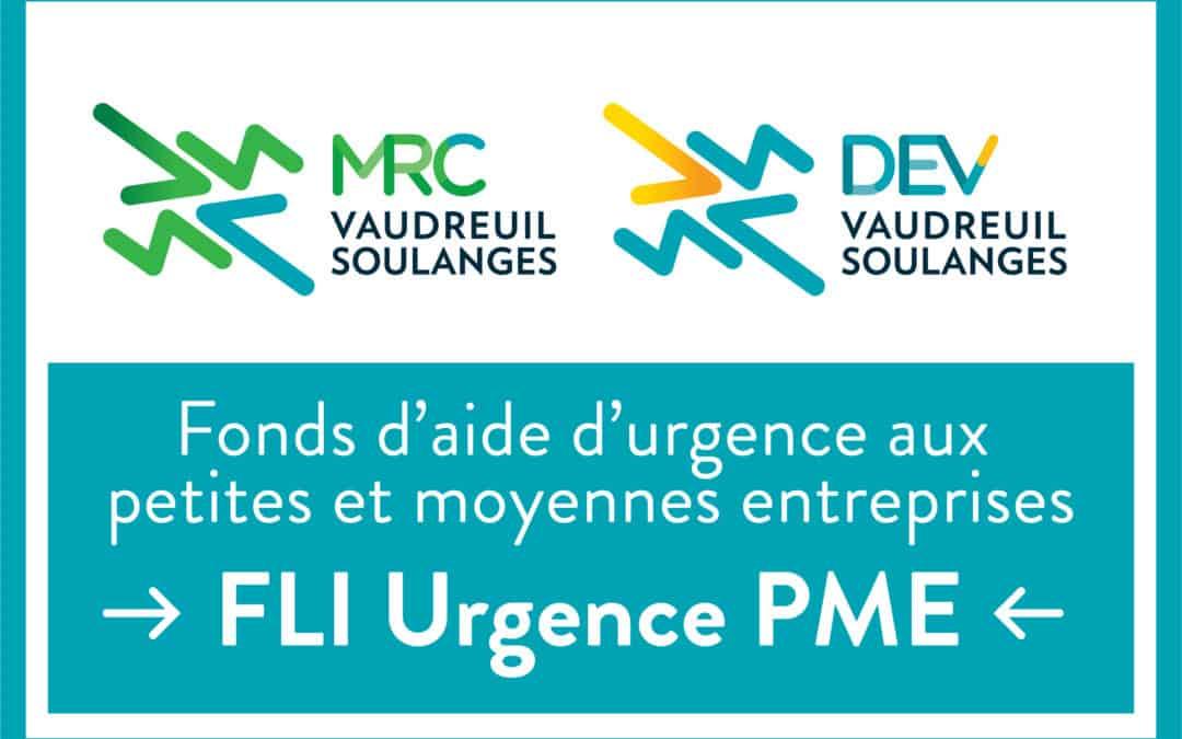 La MRC de Vaudreuil-Soulanges adopte son Fonds d'aide d'urgence aux petites et moyennes entreprises : Le FLI Urgence PME