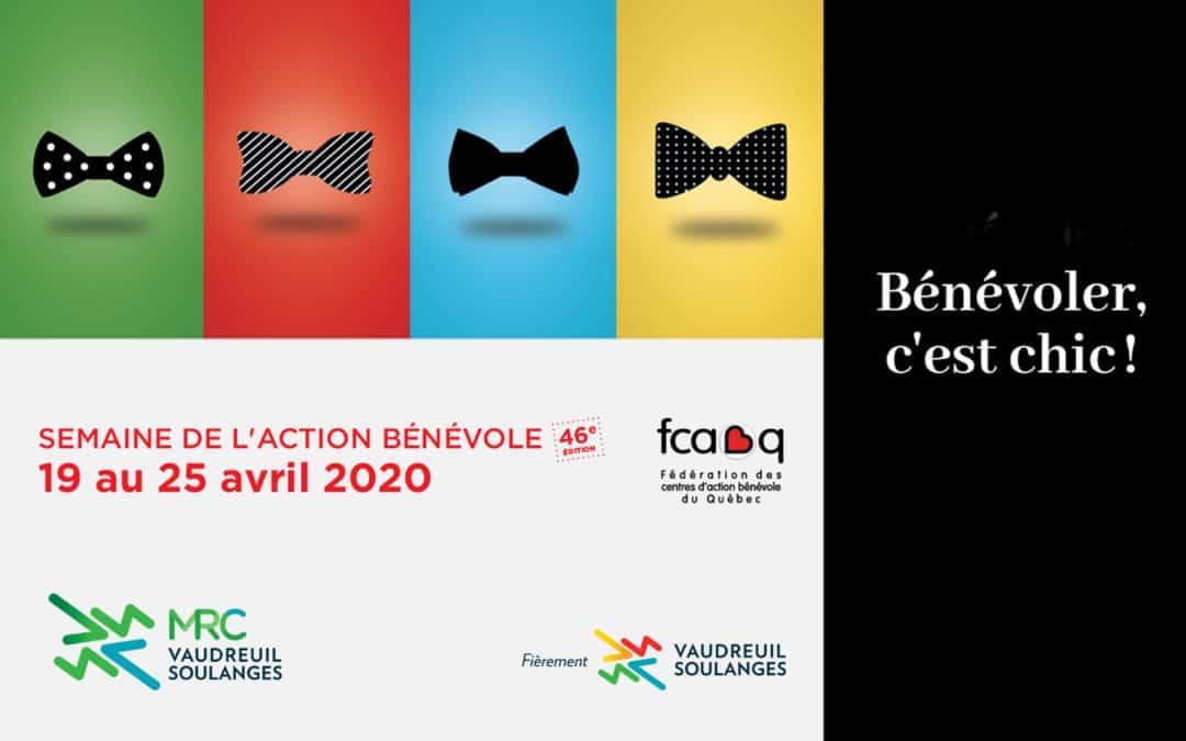 La MRC de Vaudreuil-Soulanges souligne la semaine de l'action bénévole