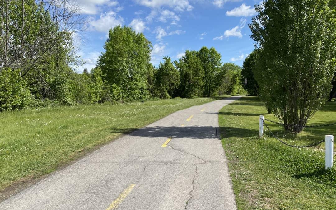 Réouverture de la piste cyclable du canal de Soulanges à Coteau-du-Lac