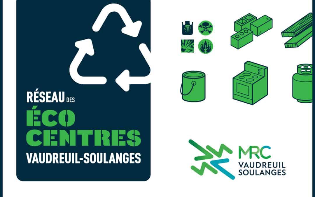 Malgré les travaux, l'écocentre situé à Saint-Zotique demeure ouvert aux citoyens de la MRC de Vaudreuil-Soulanges