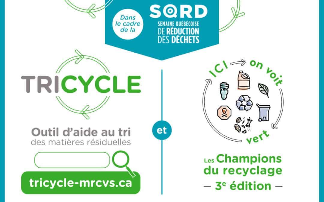 La MRC de Vaudreuil-Soulanges vous invite à participer à la Semaine québécoise de réduction des déchets